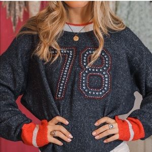 Wildfox embellished sweater NWT